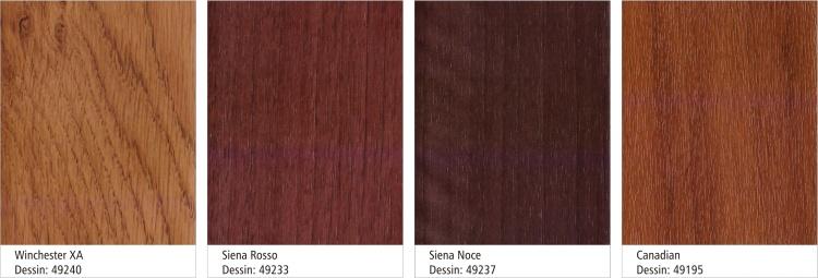 2 - paleta boja PVC SCHUCO