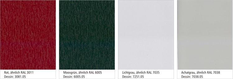 8 - paleta boja PVC SCHUCO