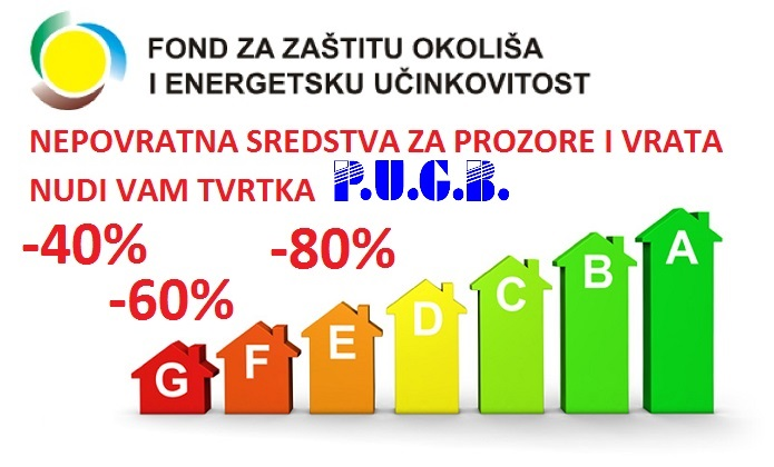 Subvencija stolarije - nepovratna sredstva, PUGB Dugo Selo - Zagreb, Hrvatska